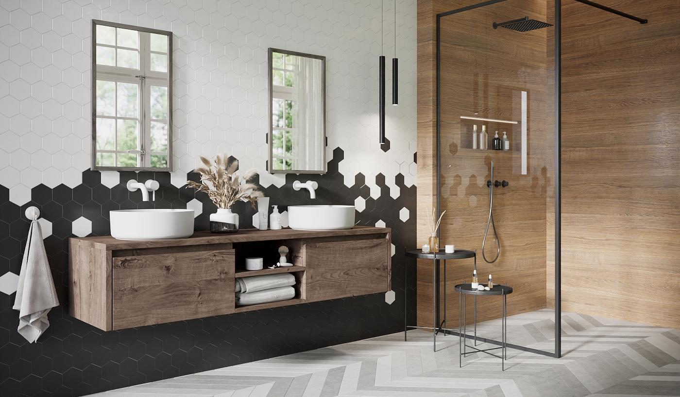 Badkamerwinkel Veenendaal - Fine Wood Design
